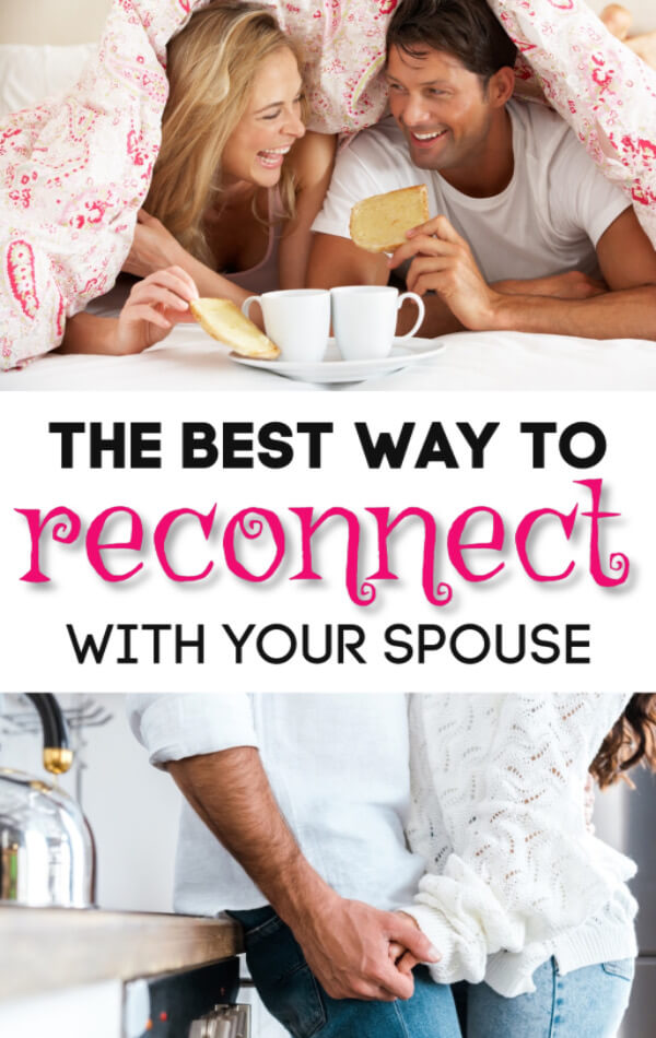 How to Reconnect With Your Spouse, According to Science